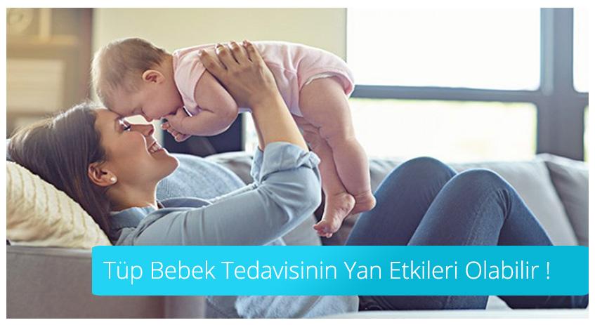 Tüp Bebek Tedavisinin Yan Etkileri Olabilir
